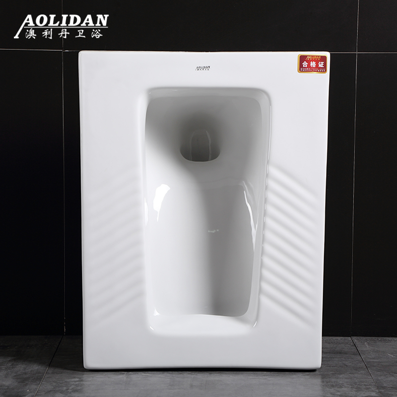 Ceramic Deodorizing Squatting Toilet