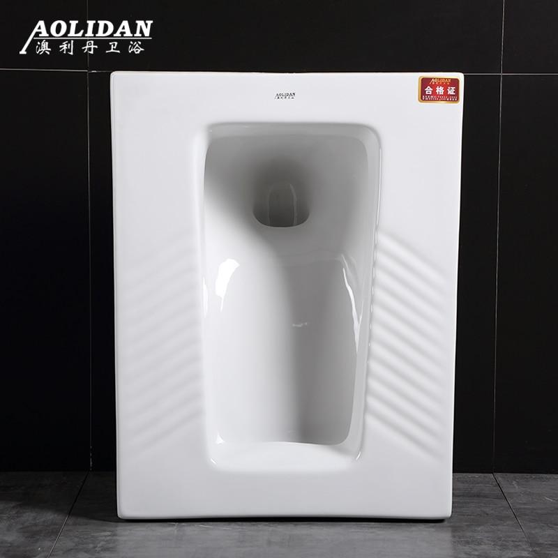 Ceramic Deodorizing Squatting Toilet