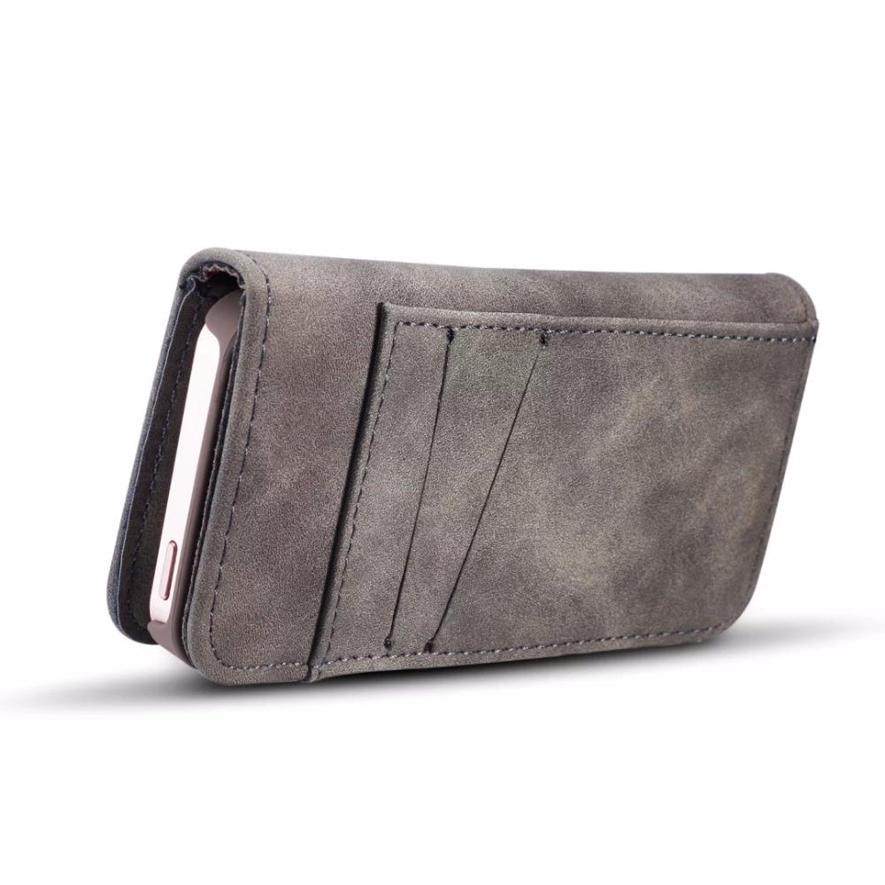 NFH klassiskt märke av läderfodral för iPhone 6 6S Plus 7 7 Plus - Reservdelar och tillbehör för mobiltelefoner - Foto 5