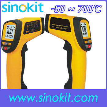 Free shipping Best sales IR Non-contact Digital Infrared thermometer SK700