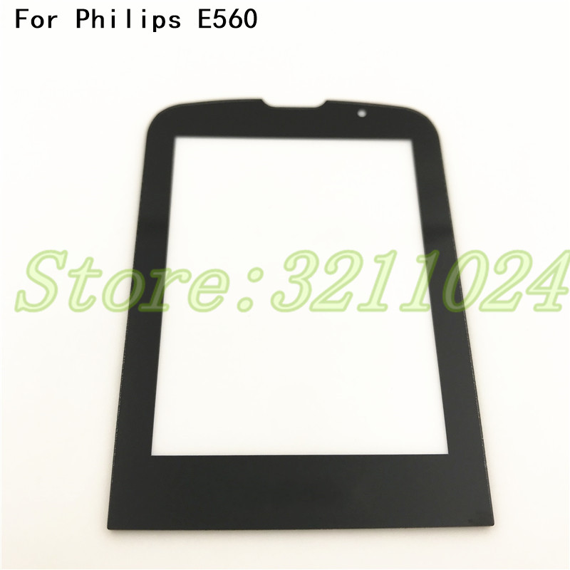 Good quality Front Glass Lens For <font><b>Philips</b></font> Xenium <font><b>E560</b></font> E-560 Glass lens Not Touch Screen+Free Delivery image