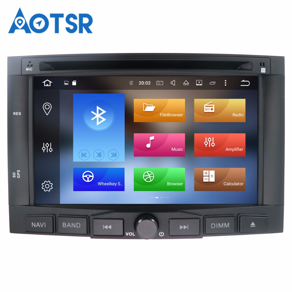 Android 8.1 Car DVD GPS For Citroen Berlingo Peugeot Partner Auto Radio FM RDS Stereo Glonass Navigation Audio Video Multimedia