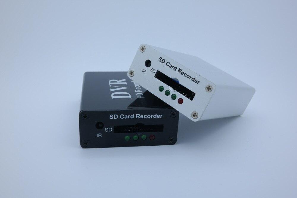 Nouveau 1Ch Mini DVR Support carte SD en temps réel Xbox HD 1 canal cctv DVR enregistreur vidéo carte Compression vidéo couleur blanc/noir-in Système de surveillance from Sécurité et Protection on AliExpress - 11.11_Double 11_Singles' Day 1