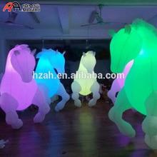 2.5mH легкий декор надувная лошадь костюм для парада выступления