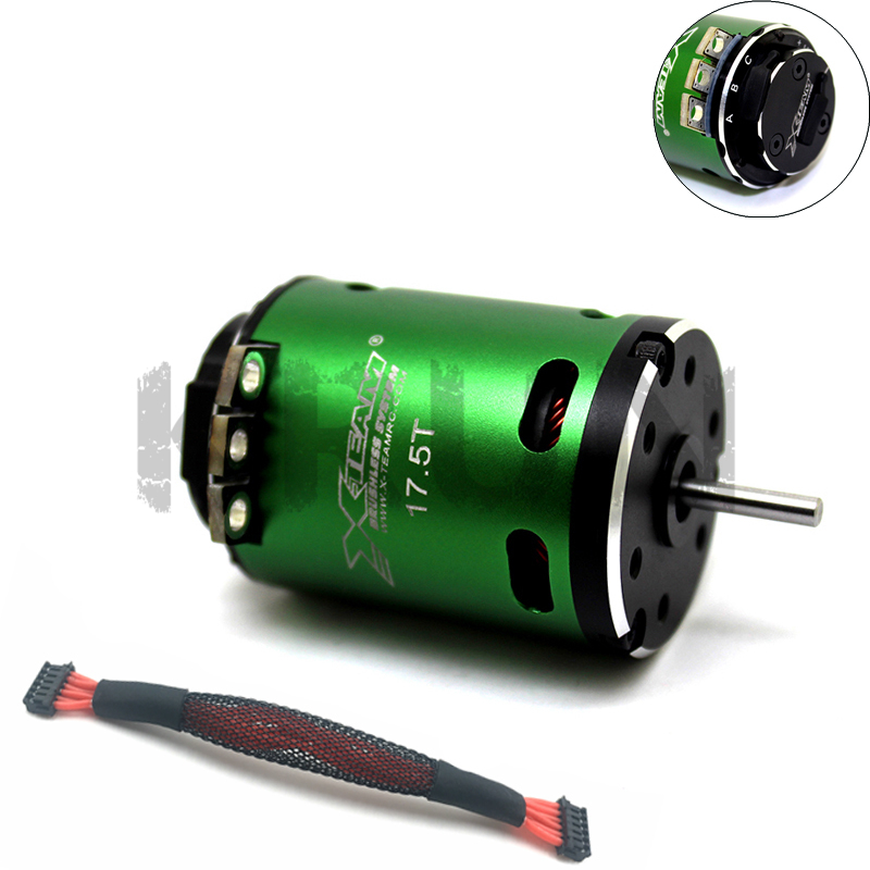 X TEAM 3650 Sensored 10 5T 3030KV 17 5T 2050kv 2 3S Racing Brushless Motor for