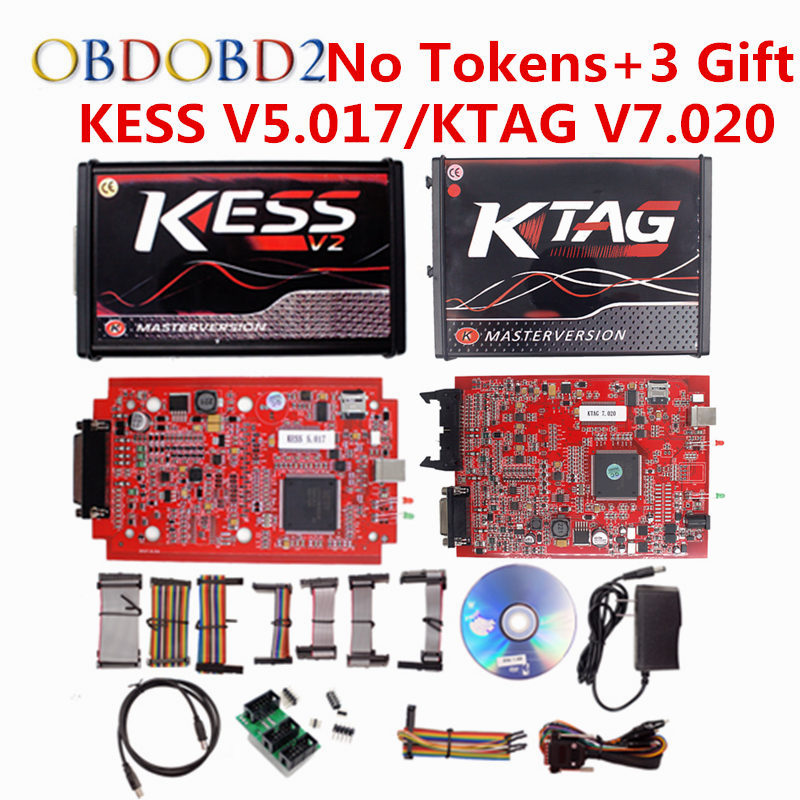 V5.017 KESS V2 5.017 Master OBD2 Gestione Sintonia Kit Kess OBDII Chip ECU Attrezzo di Sintonia KESS 5.017 Versione UE No Gettoni Limitata