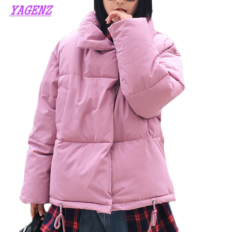 New Women Korean Winter Coat Female Warm Down cotton jacket Women's Bread service Wadded Jackets   parkas   Female jacket coats B941