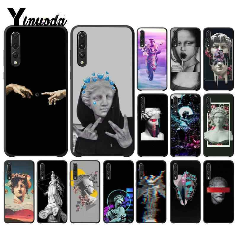 Yinuoda Vintage Plaster Statue David Art Print phone Cover for Huawei P9 P10 Plus Mate9 10 Mate10 Lite P20 Pro Honor10 View10