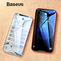 Baseus 0.23mm Thin Screen Protector For iPhone Xs Xs Max XR 2018 Glass 3D Tempered Glass For iPhone Xs Protective Glass Film Phone Screen Protectors