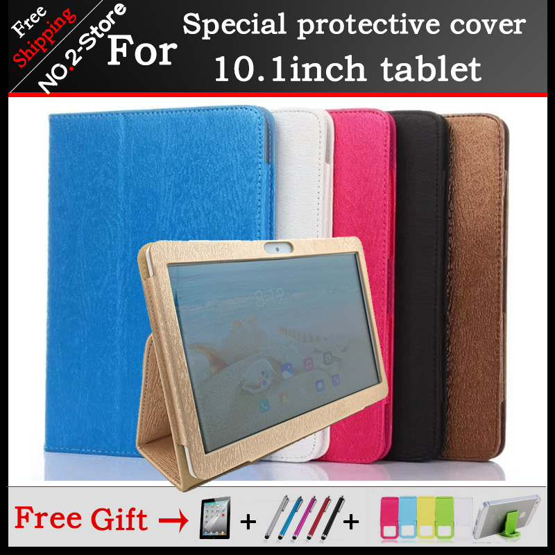 Fashion 2 fold Folio PU stand cover case for BDF BMXC K107 S107 K108 T900 MTK8752 MTK6592 MTK6580 3G/4G 10.1 phone call tablet