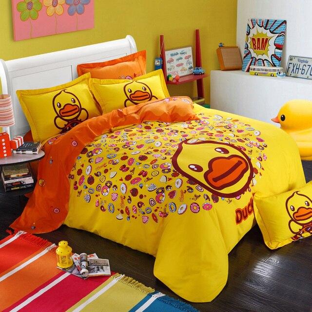 2015 rubber duck hello kitty super mario scooby doo spongebob barbie pokemon totoro comforters and quilts - Scoobydoo Bedding