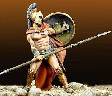 Leonidas In 300 Columns   54mm
