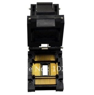100% NEW IC51-1004-814 TQFP100 QFP100 0.65MM IC Test Socket / Programmer Adapter / Burn-in Socket (IC51-1004-814-1)