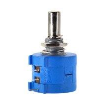 Free Shipping 3590S-2-104L 3590S 100K ohm Precision Multiturn Potentiometer 10 Ring Adjustable Resistor