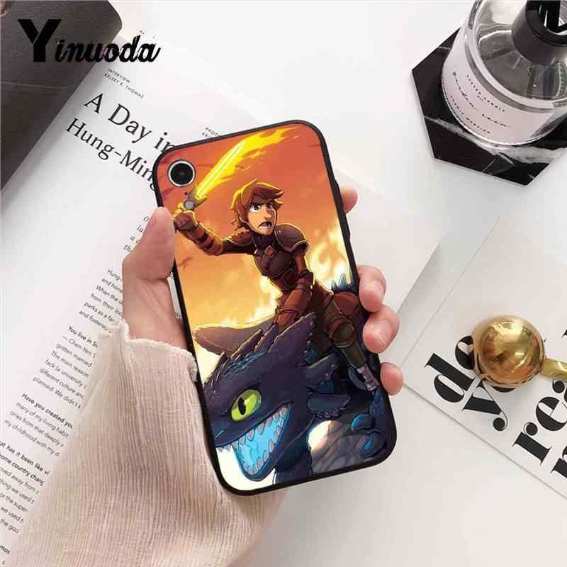 Yinuoda Как приручить дракона, летающего через границы, новинка, чехол для телефона iPhone8 7 6 6splus X XSMAX 5 5S SE XR, чехол