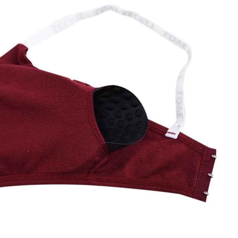Дамский бюстгальтер из модала со съемными мягкими чашечками, женский летний бюстгальтер с английскими буквами, модный бюстгальтер