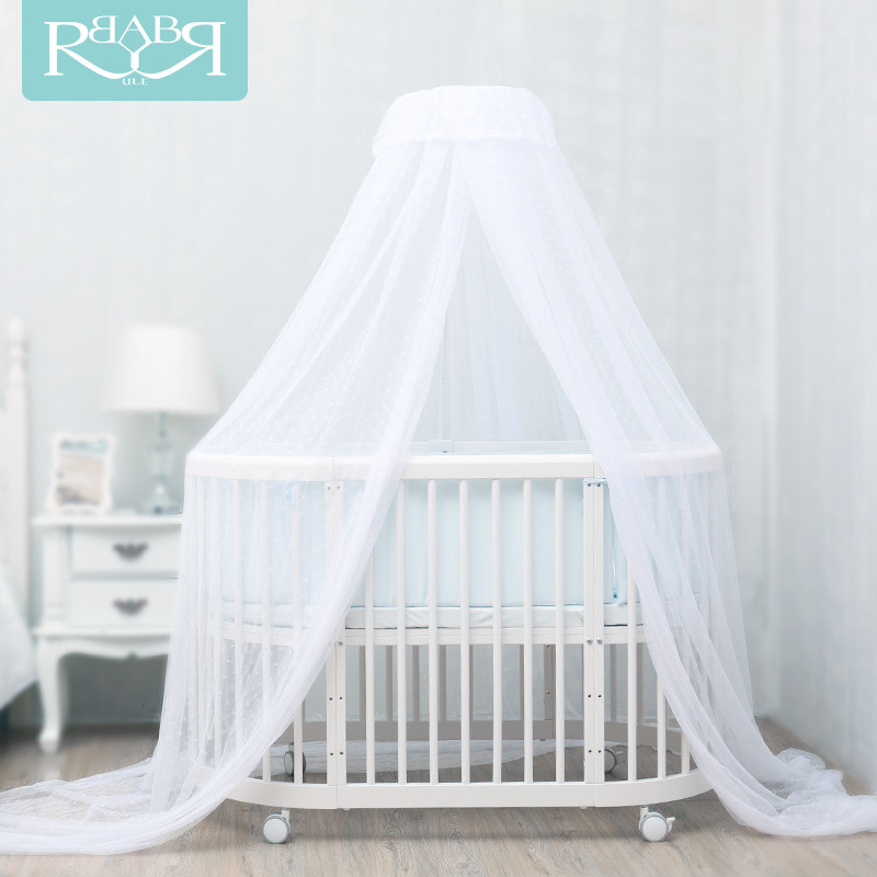 Babyruler Baby Mosquito Net Gauze Bed Nets With Support Frame mosquito nets curtain for bedding set princess bed canopy bed netting tent