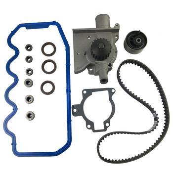 Courroie de distribution Kit de pompe à eau couvercle de Valve s'adapte aux outils d'installation pour Ford Mercury 2.0L 97-02 Sohc accessoires de voiture dact