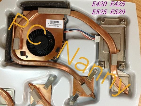 ФОТО For LENOVO THINKPAD E420 E425 E525 E520 Laptop Heatsink Cooling CPU fan