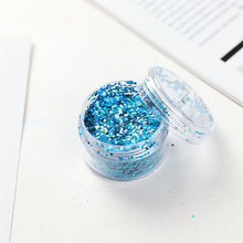 10ml/bottle Shiny Nail Glitter Sequins Colorful Sparkly Laser Powder Art Dust Decoration