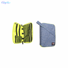 1Pcs Blue 24cm*16cm Storage Bag For Pad,Cable Wires Of Cellphone,Digital camera,Laborious Disk,U-Disk