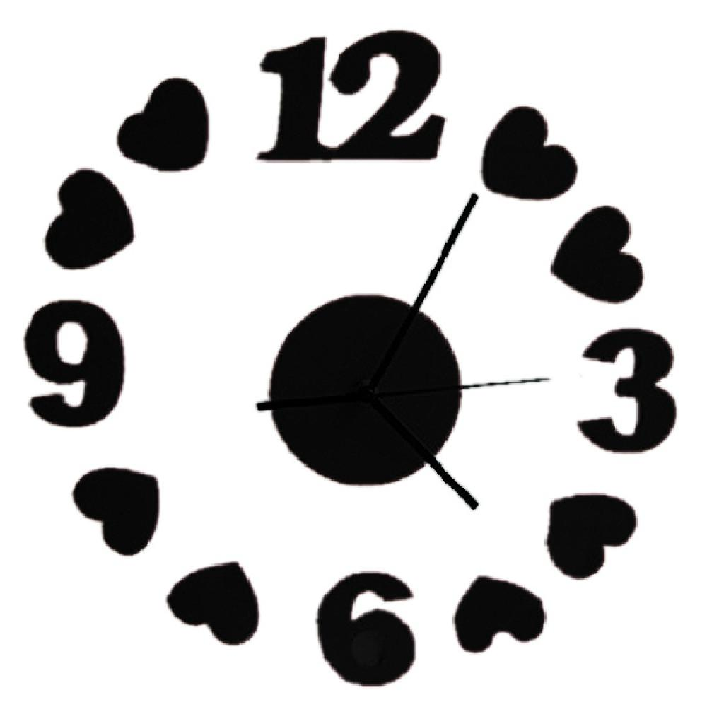 Lovely Pared Modern Hard Digital Wall Clock Price In