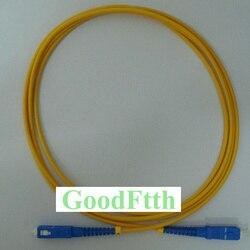 Cabo de remendo de fibra cabo de patchcord SC-SC upc sm simplex goodftth 1-15m