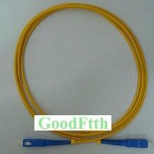 الألياف كبل حبل توصيل باتشكورد SC SC UPC SM Simplex GoodFtth 1 15 متر
