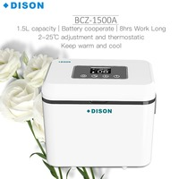 Dison Rechargeable Diabetes Outdoor Travel Mini Fridge Portable Insulin Vaccine Blood Refrigerator Insulin Cooler Box