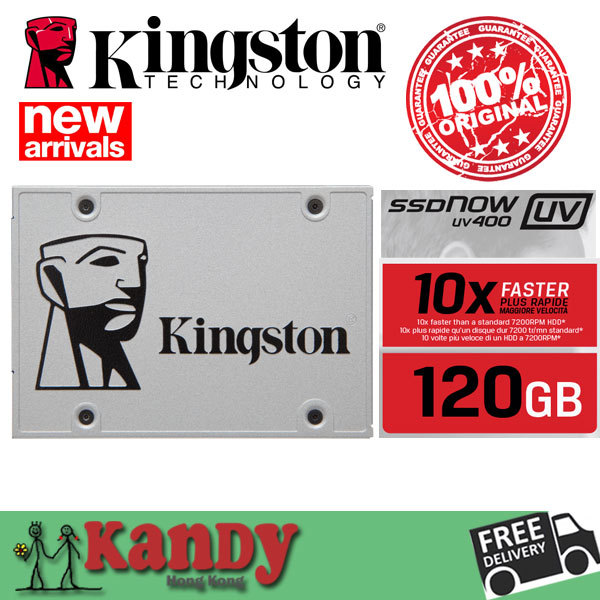 Kingston ssdnow uv400 120 gb 128g sata hdd 550mbs ssdnow hhd flash drive duro externo hd externo portátil portátil