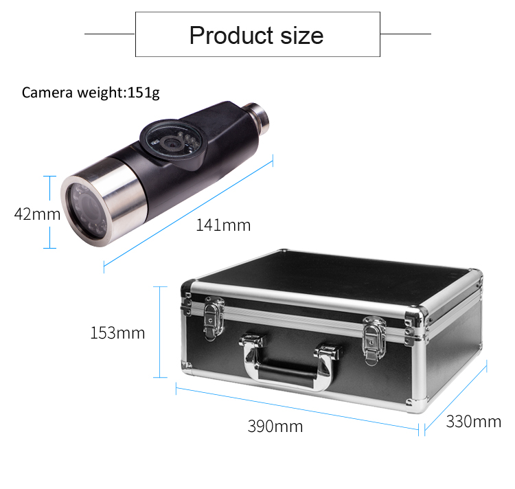 Image 3 - Eyoyo P70E 30M Pipe Pipeline Sewer Inspection Snake Video System DVR Camera Industrial Endoscope Waterproof IP68Surveillance Cameras   -