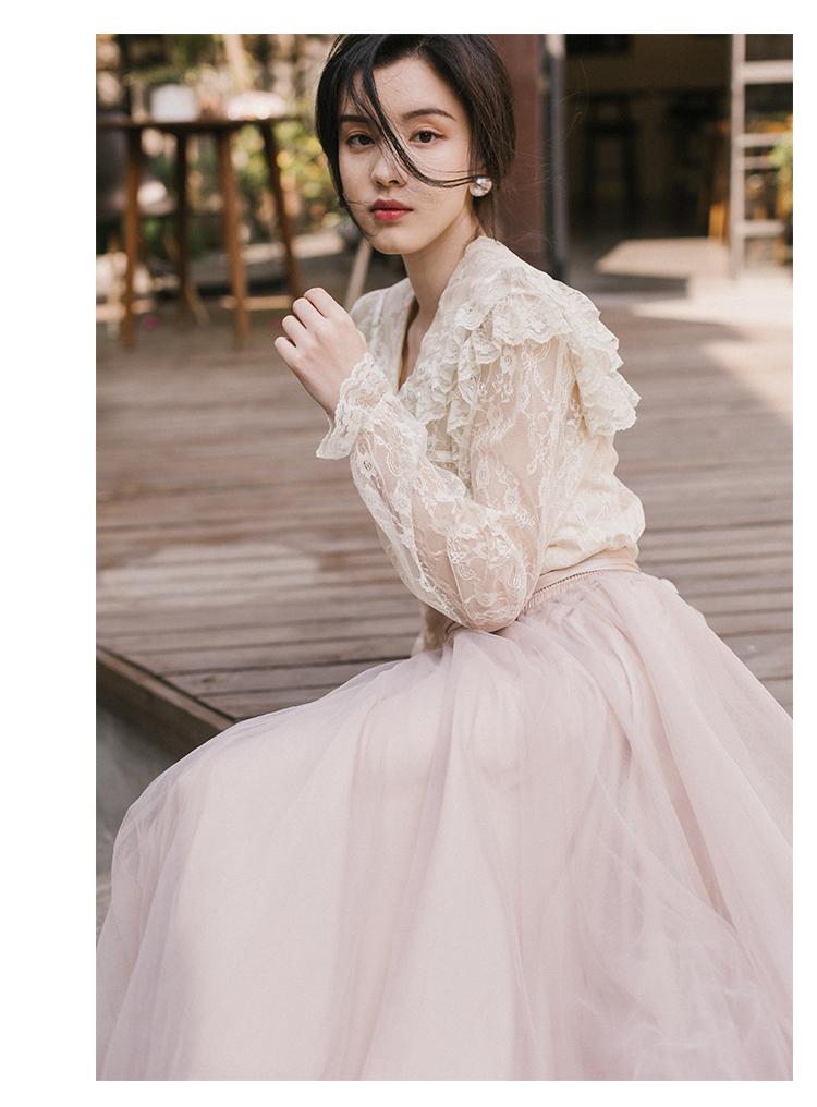 Health 本日の割引 新ファッション女性ツーピースセットサマードレスセットレトロフランスの春ブラウス IOW 10