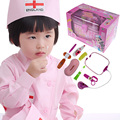 Kids Toy Girls Flashing Heartbeat Medical Play Children Birthday Doctor Kit  FCI#
