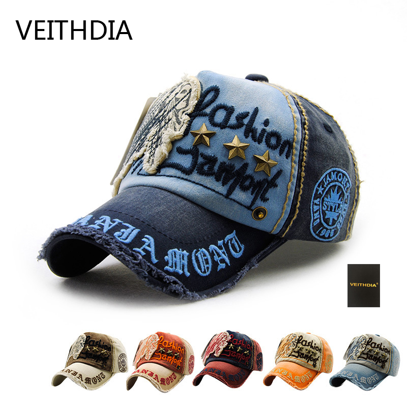 VEITHDIA unisex fashion men's Baseball Cap women snapback hat Cotton Casual caps Summer fall Hat for men cap wholesale 1 fashion cap women men summer spring cotton caps women solid adult baseball cap black white hat snapback women cap 2017