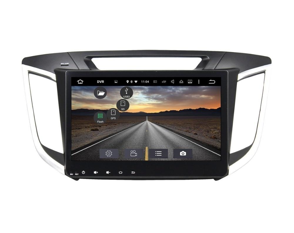 Octa Core 2 din 10.1″ Android 6.0 Car DVD GPS for Hyundai IX25 2014 2015 With 2GB RAM Radio Bluetooth 32GB ROM USB Mirror-link