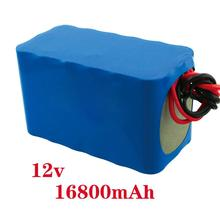 Portable Rechargeable Battery 12v 16800mah li-ion Pack for LED StripsLAN Router dc-168