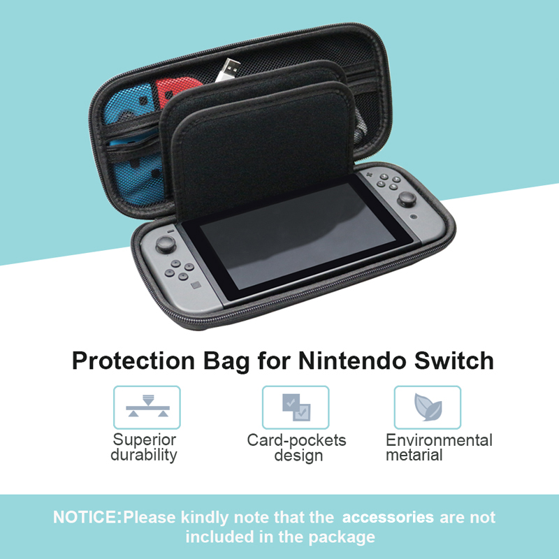 Portable Hard Shell Case For Nintend Switch Nintendos Switch Console Durable Nitend Case For NS Nintendo Switch Accessories in Bags from Consumer Electronics