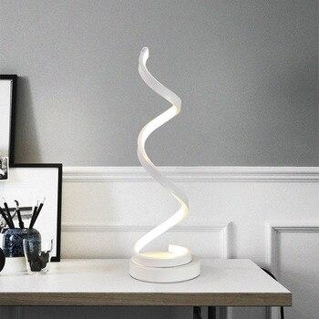 Moderne 20 watt LED Tisch Lampe Schlafzimmer Lesen Schreibtisch Licht Nacht  Lampe Studie Auge Schützen UNS/EU Stecker Dimmbar