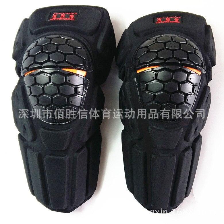 Livraison gratuite genouillères Moto Motocross genouillère garde vtt Ski équipement de protection genouillère Moto genouillère soutien
