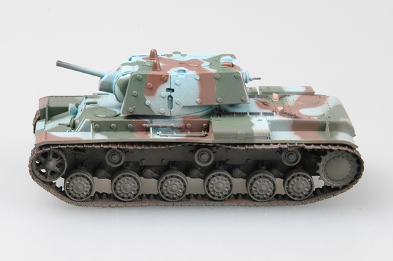 Трубач 1: 72 Финской армии в Второй мировой войны KV-1E модель тяжелый танк 36280 любимая модель
