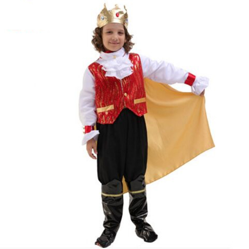Aliexpress.com : Buy King Costume Boy Prince Costumes For