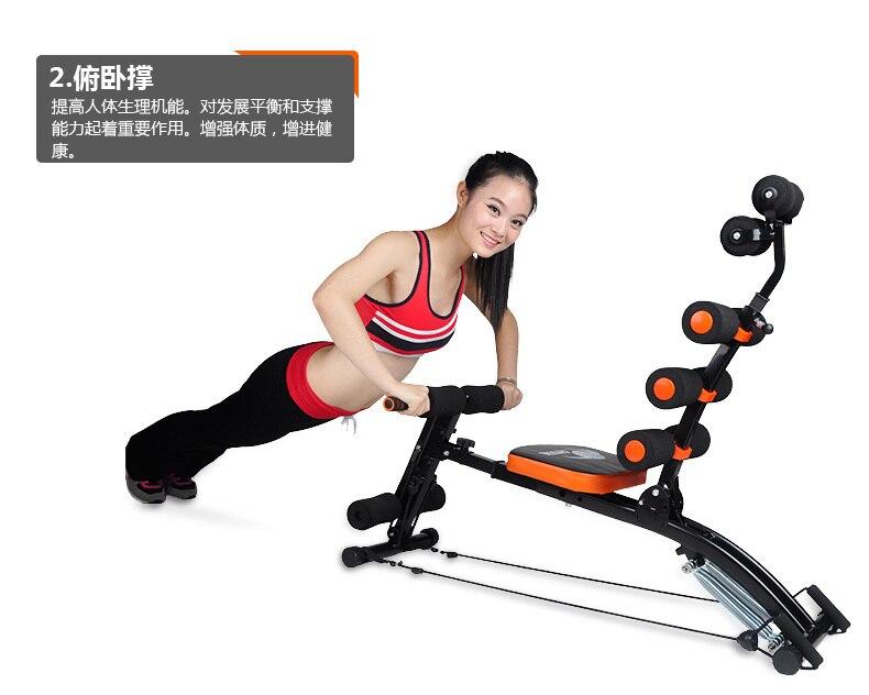ab89dc1e3d2 Six versatile Abdomenizer home fitness equipment abdominal crunches ...
