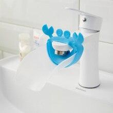 Extensor de grifo de baño para niños, extensor de dispositivo de lavado a mano, extensión del fregadero de la manija del fregadero, extensión del grifo de agua, accesorios de baño
