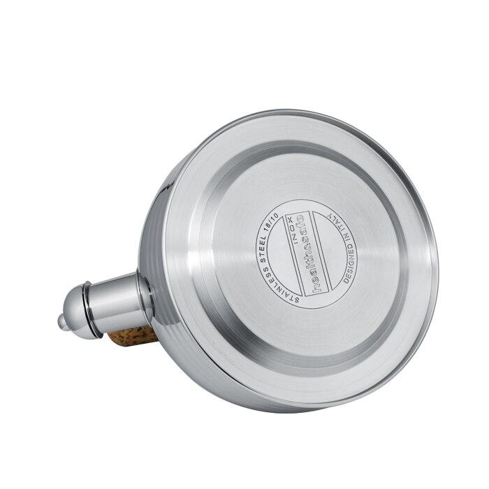 Houmaid Hoge kwaliteit rvs klinkt luid fluitketel compound zool door gasfornuis of elektromagnetische oven - 5