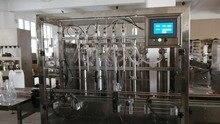 ผงซักฟอกอัตโนมัติบรรจุcappingติดฉลากสาย, 6หัว5Lมือซักผ้า/เจลทำความสะอาดแพ็คสาย_ลูกสูบบรรจุเครื่องจักรCE