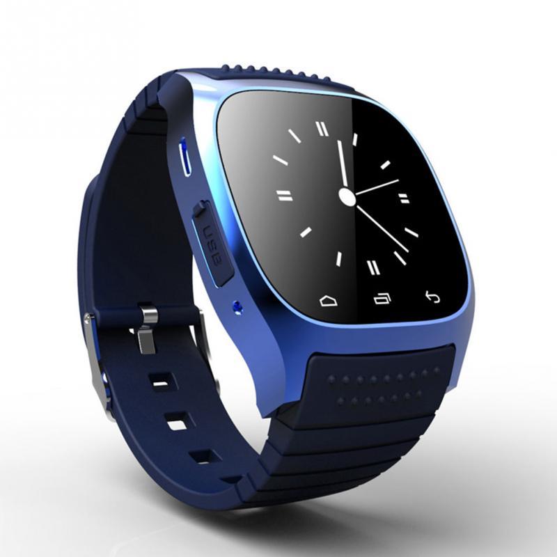 696 SmartWatch Bluetooth Smart Uhr M26 mit Led-anzeige/Dial/Alarm/Schrittzähler für Android IOS HTC Handy telefon