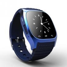 Дешевые 696 SmartWatch Bluetooth Smart часы M26 со светодиодной Дисплей/циферблат/Будильник/шагомер для Android IOS HTC Mobile телефон
