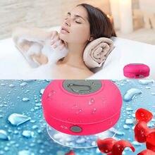 Горячая Мини Bluetooth динамик водонепроницаемый портативный беспроводной Громкая Связь Динамик s с присоской для ванной бассейна автомобиля пляж открытый