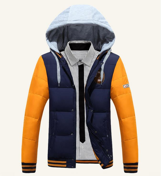 Подробнее о Winter Warm Hooded Men Down Jackets Casual Duck Down Cotton Coats Jackets Thicken Outwear Casual Solid Parkas 2017 men winter jacket hooded cotton down warm jackets and coats male casual thick outwear men