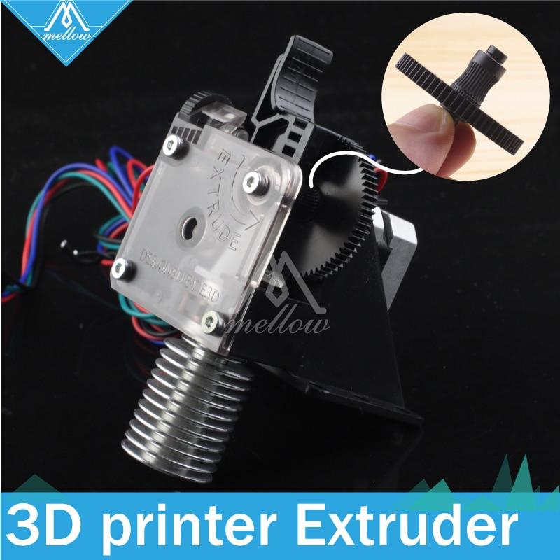 Free shipping 3D printer Kits titan Extruder for Desktop FDM Reprap Kossel MK8 J-head bowden anet a8 cr-10 Optional i3 bracket